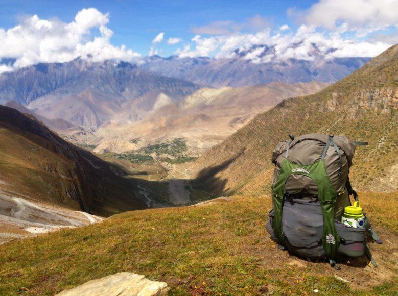 In the Annapurna region of Nepal