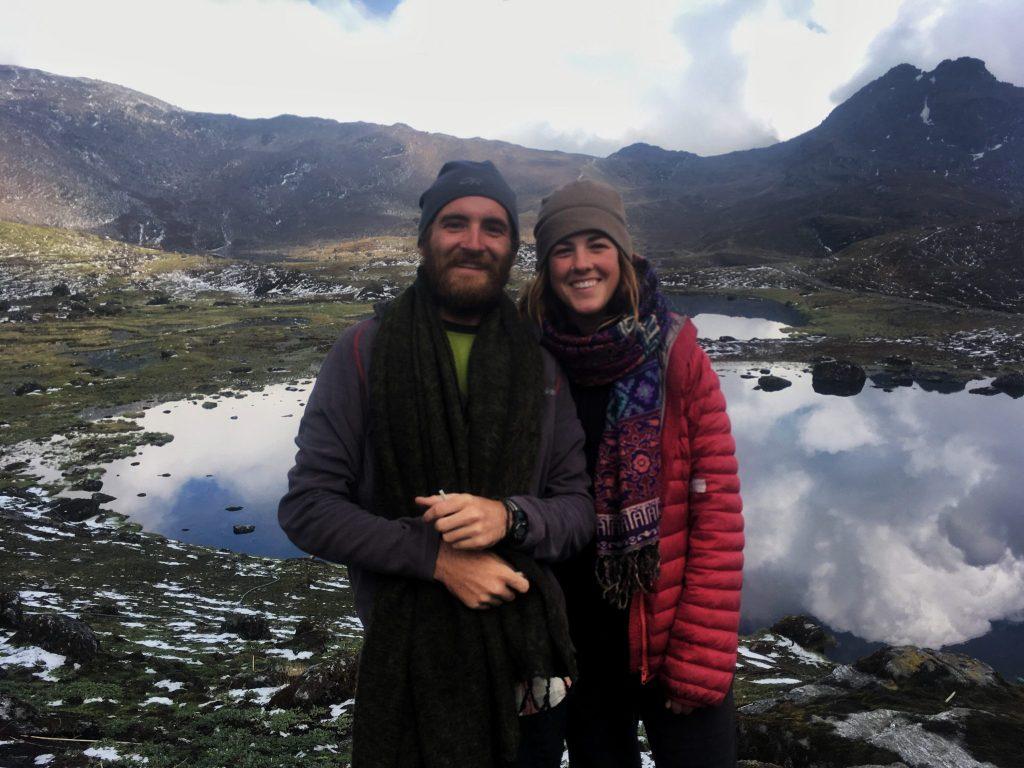 Hiking to Panch Pokhari, part of Nepal's Great Himalaya Trail.