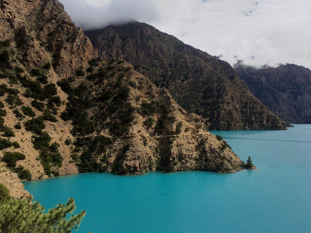 Hiking across Nepal's Himalaya mountains, along the Great Himalaya Trail.