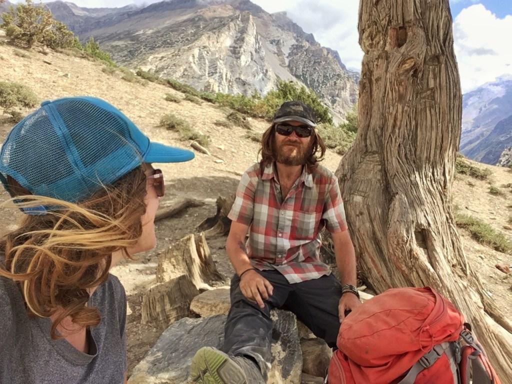 Hiking Nepal's Himalaya mountains, along the Great Himalaya Trail.