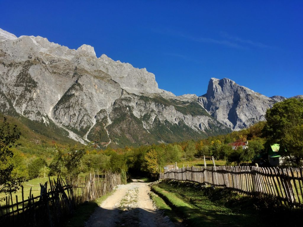 Hiking in the Accursed Mountains of Albania