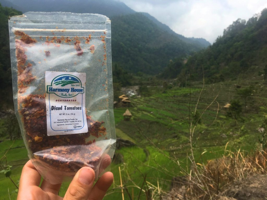 Vegetarian backpacking recipes