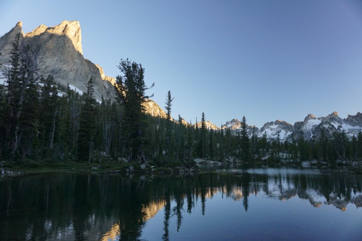 Alice Lake reflections