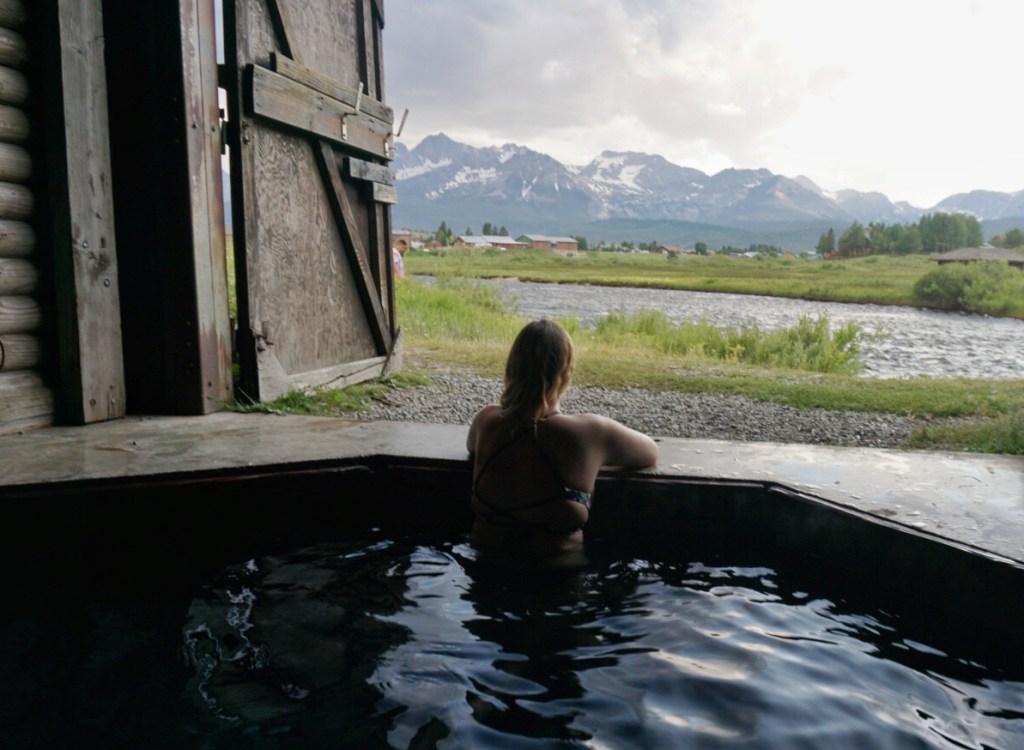 stanley idaho hot spring