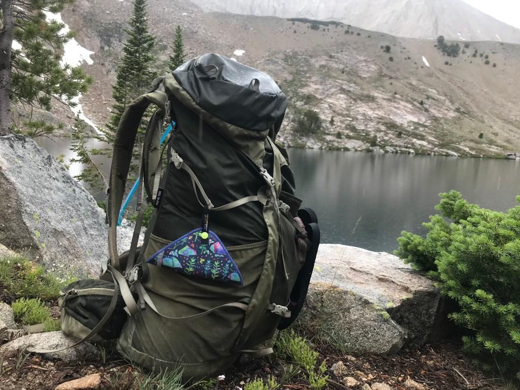 Kula Cloth pee rag in the outdoors