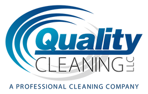 Logo for commercial cleaning company named Quality Cleaning.