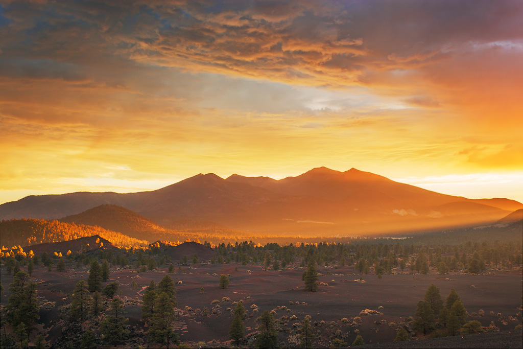 san francisco peaks sunset photography