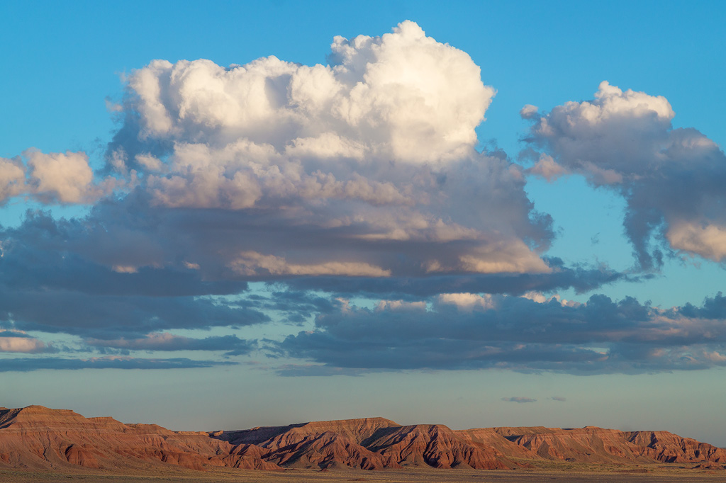 painted desert landscape photography