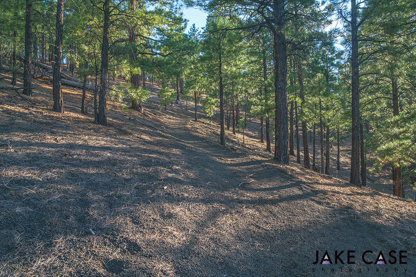 Sustainable Hiking Sunset Crater