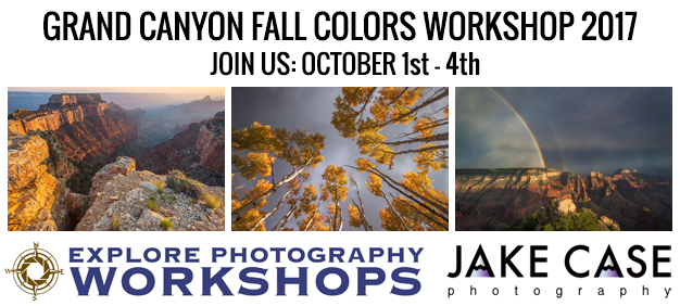 grand canyon photo workshop banner