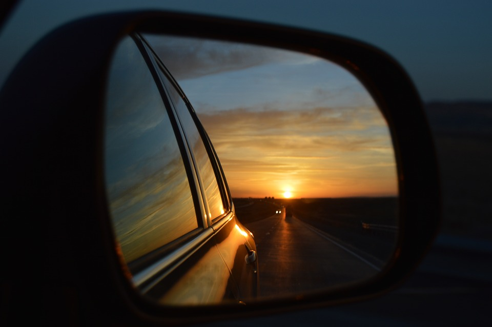 Looking at Life in the Rear-View Mirror