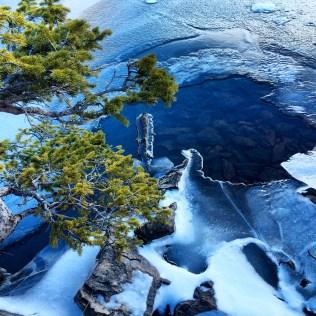 New frozen lake