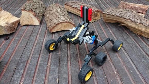 6 Wheel drive rocker bogie mechanism