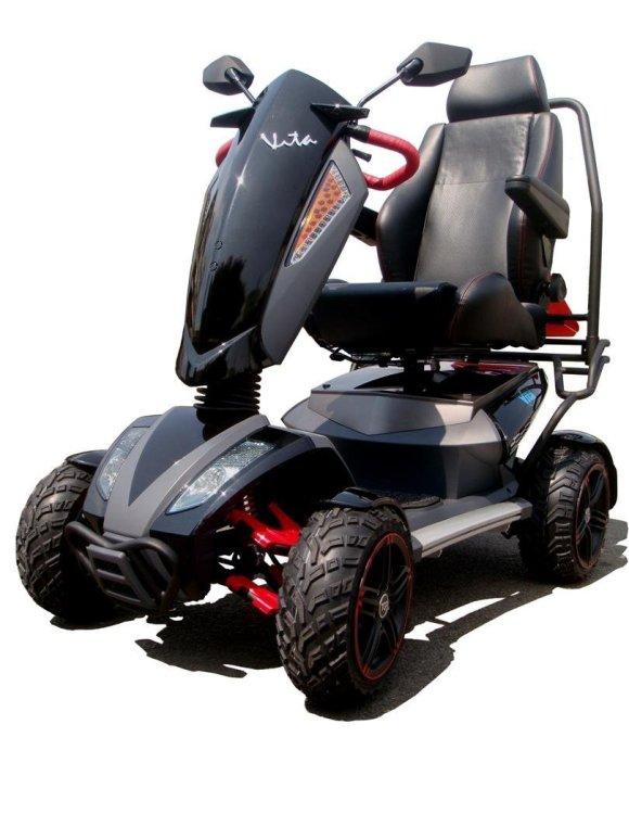 """""""All Terrain"""" Wheelchair"""