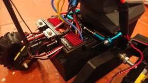 Motor Controllers for Mountain Wheelchair small prototype