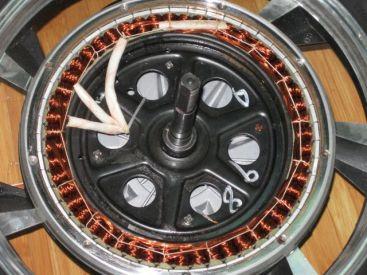 hub motor internals - mountain wheelchair