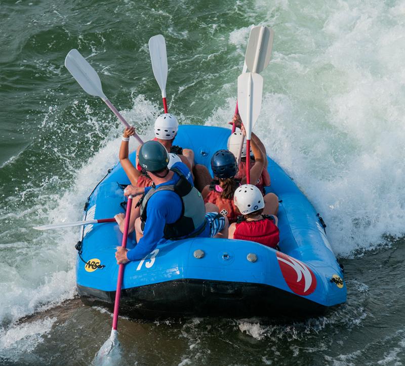 Rafting in Cherokee, NC