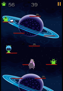 Zombie Granny vs. The Aliens in Google Play