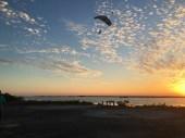 Landing at Skydive San Pedro's drop zone