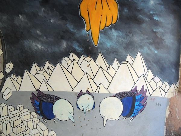 Murales a Carrara