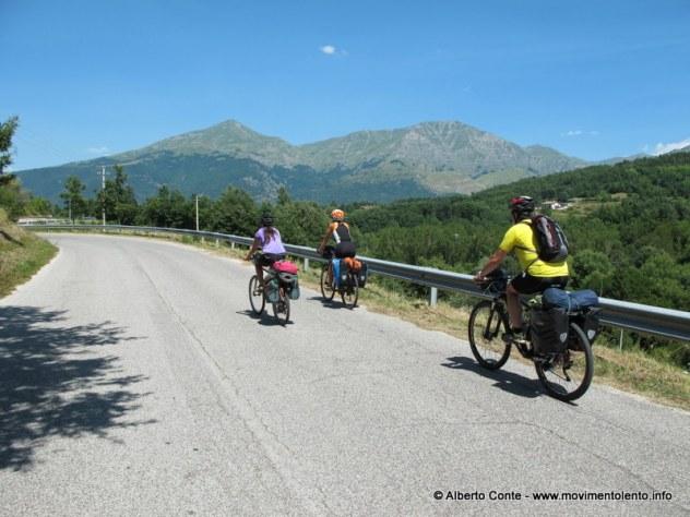Un aspetto della pedalata-evento (ph. Alberto Conte)