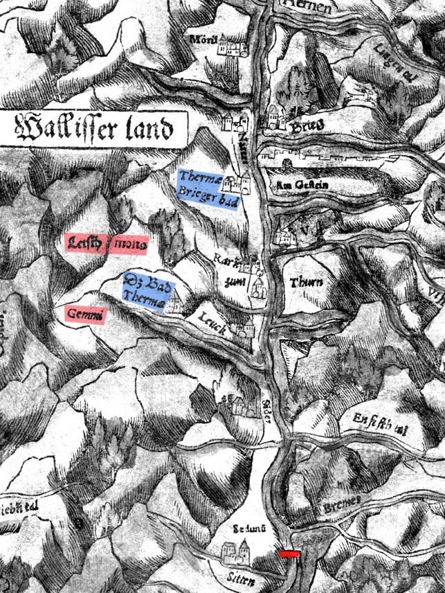 Mappa Vallese