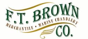 F.T. Brown Co. Logo, Mt. Desert Island, Maine