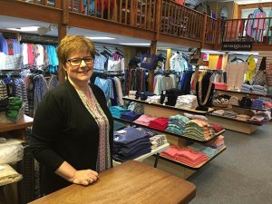 Peggy Richardson of The Holmes Store