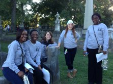 Parkview students don't just perform - they guide visitors at Tales of the Crypt