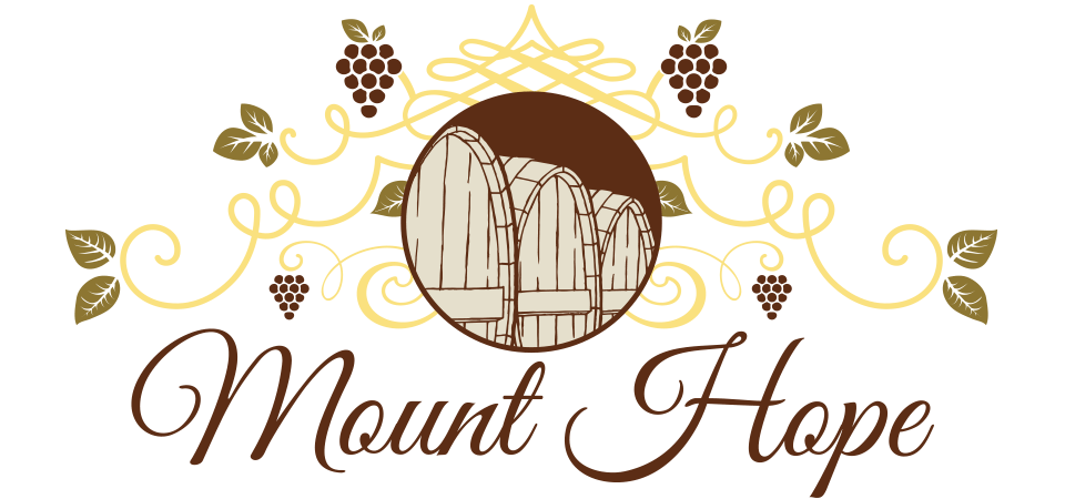 Mount Hope Wine Gallery Barrel Logo