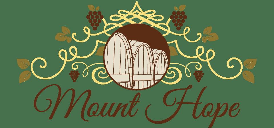 Mount Hope Wine Gallery Barrel Logo