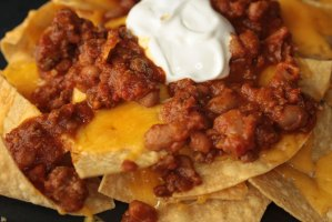 Barn Cafe Chili Cheese Nachoes