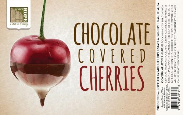 Chocolate Covered Cherries Full Label