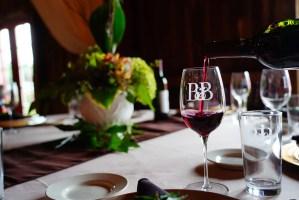Winery Interior - Wine Pour