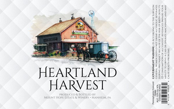Heartland Harvest Label