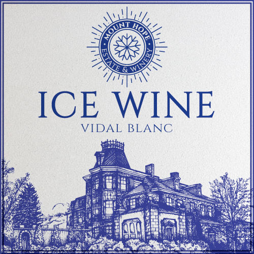 Ice Wine Label Icon