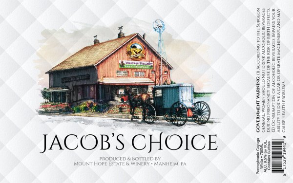 Jacob's Choice Label