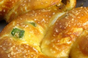 Barn Cafe Stuffed Pretzels