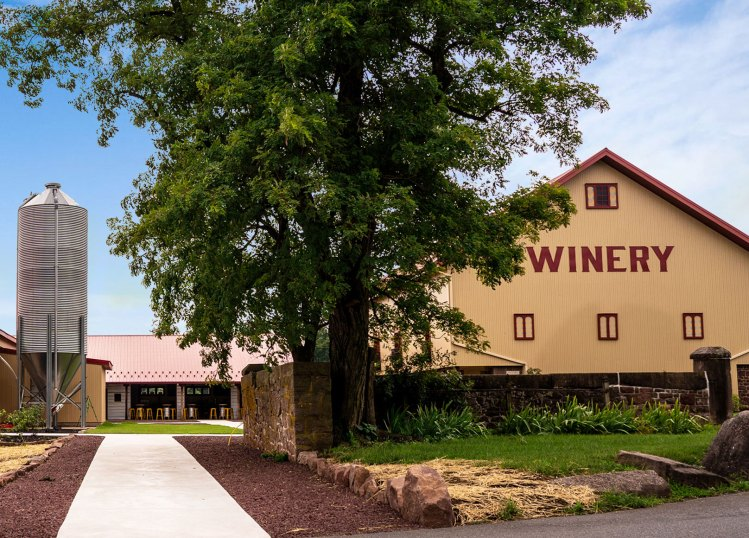 Mount Hope Winery - Exterior