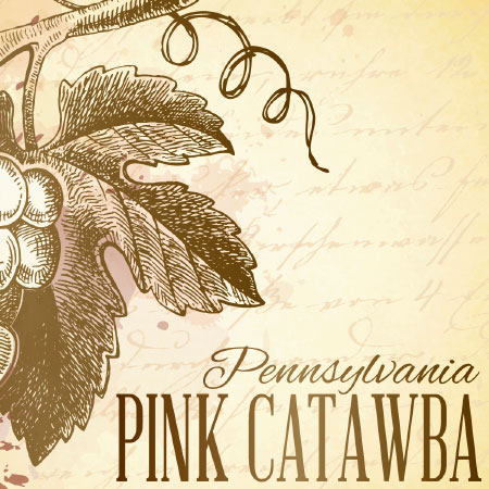 Pink Catawba Label Icon