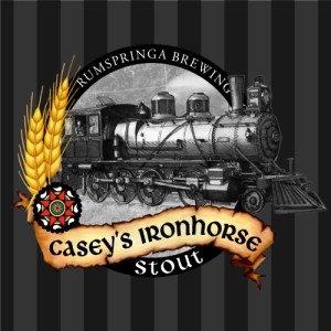 Rumspringa Brewing Company Casey's Ironhorse Stout Label Icon