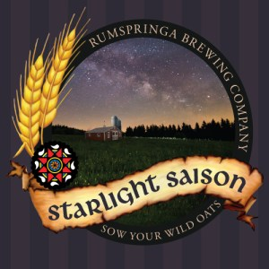 Rumspringa Brewing Company Starlight Saison Label icon