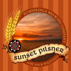 Rumspringa Brewing Company Sunset Pilsner Label icon