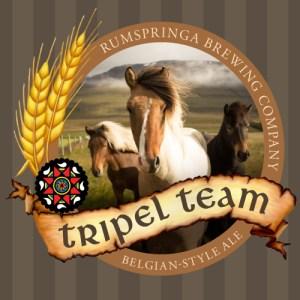 Rumspringa Brewing Company Tripel Team Label icon