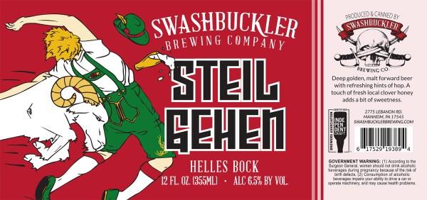 Steil Gehen Helles Bock Label