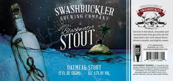 Blackwater Stout Label