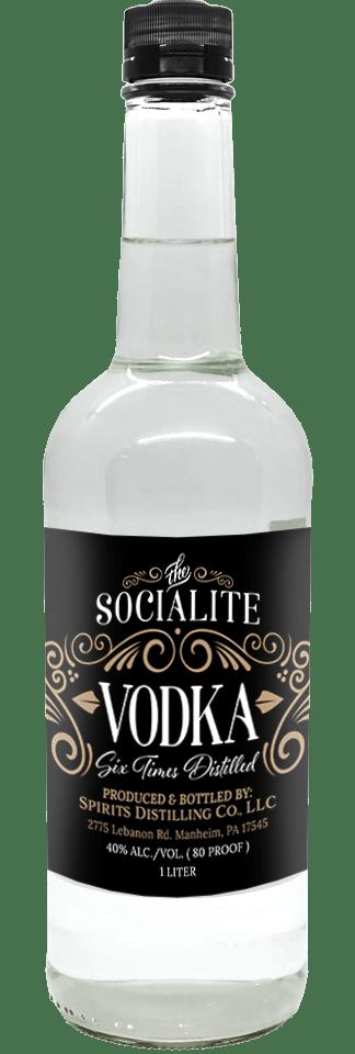 Socialite Vodka 1L Bottle