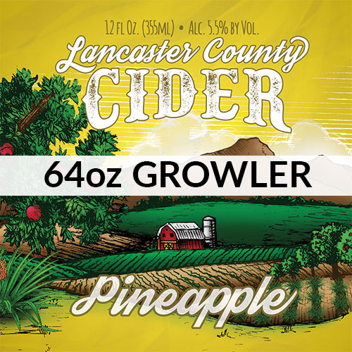 Pineapple Cider Growler Icon