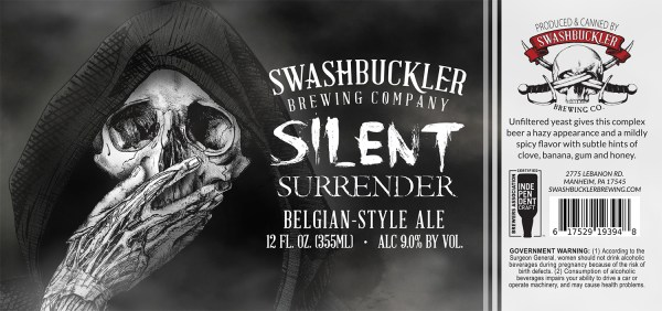 Silent Surrender Label