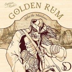 Golden Rum Icon